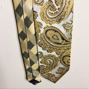 ⛄️100% Silk Steven Land Tie